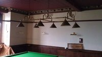 Vintage snooker 6 x light canopy