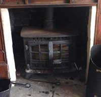 Wood or Coal Log Burner
