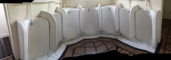 Original Victorian Gents Urinals