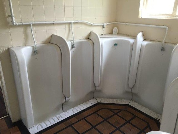 Victorian Gents Urinals