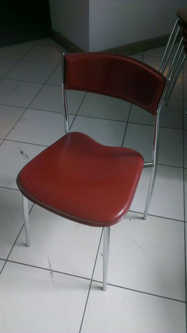 chairs with burgundy seat