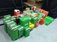 Job lot of fuel/ oil and air filters