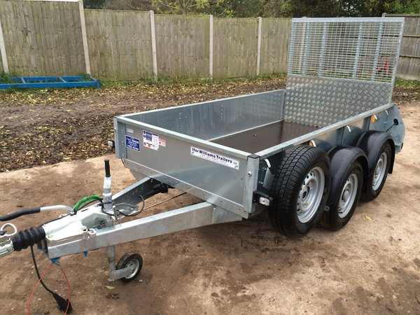 Ifor Williams GD84 - 8ft Twin Axle Trailer With Rear Ramp
