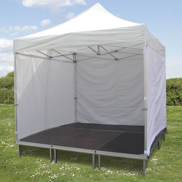 3m x 3m Gazebo stage with sides