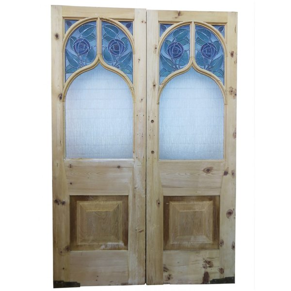 Mackintosh Rose double doors