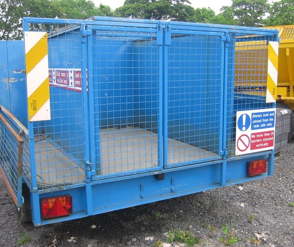 Small caged trailer for sale