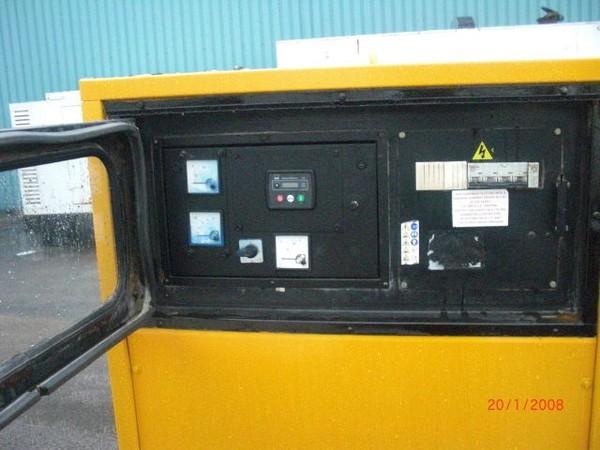 Year 2007 70kva Super Silent Diesel Generator.