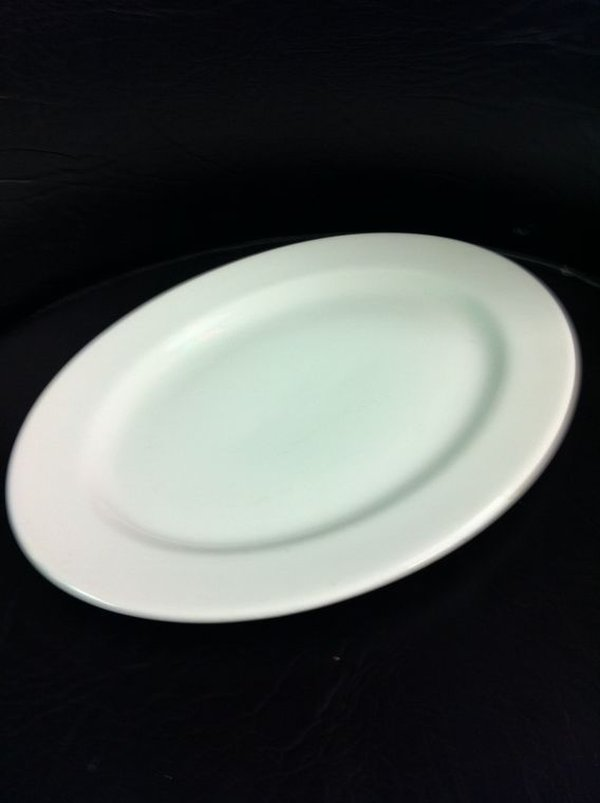 "150 x New 12""Oval Dudson Plates Seconds"