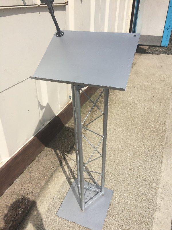 2 Trilite steel lecterns