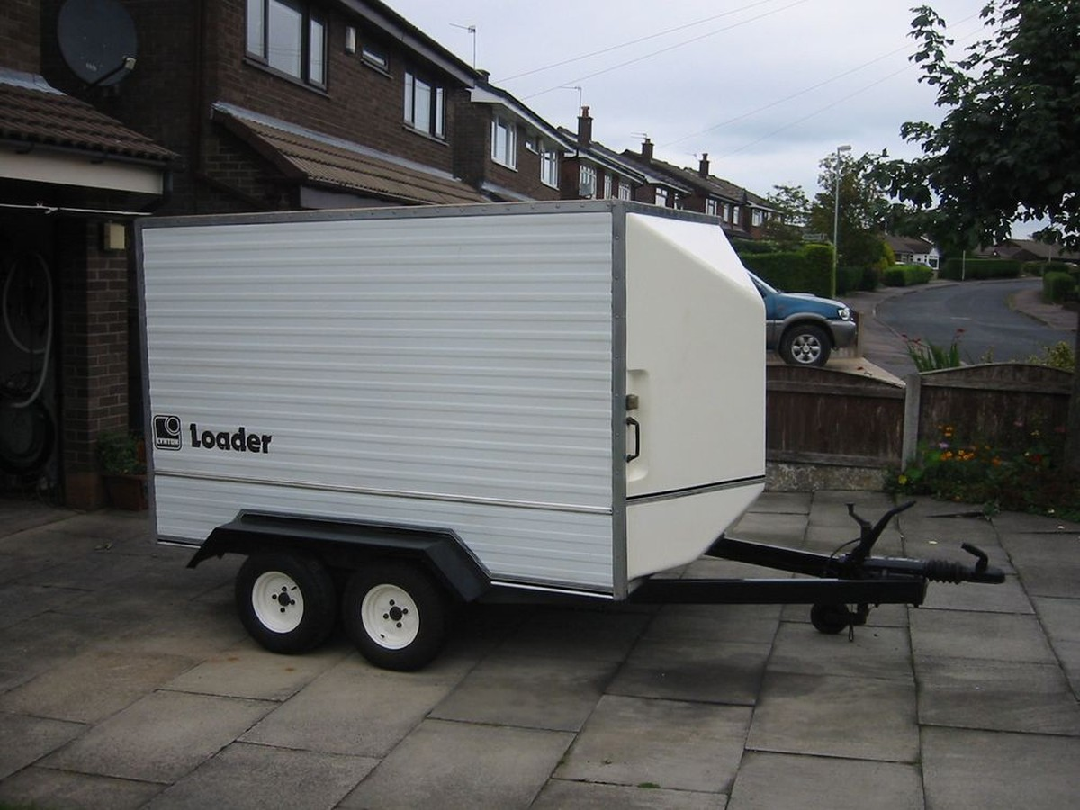 Secondhand Trailers Box Trailers Lynton Twin Axle Box