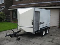 Lynton Twin Axle Box Trailer