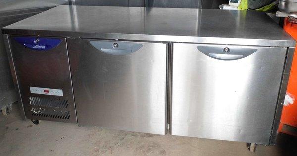 Williams Twin Door Counter Prep Fridge