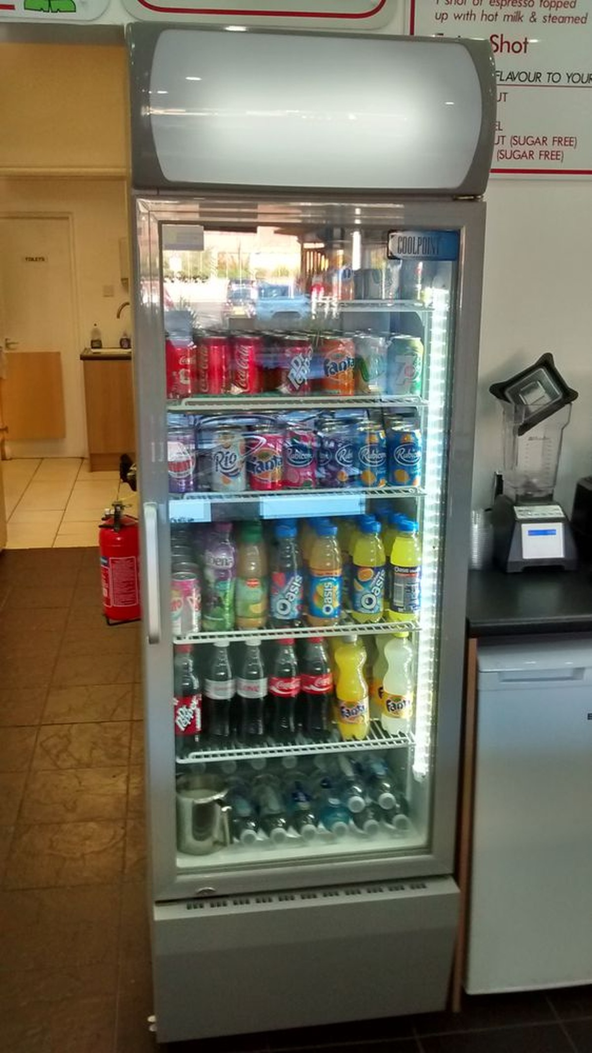 Secondhand Shop Equipment Drinks Display Fridges Cool Point