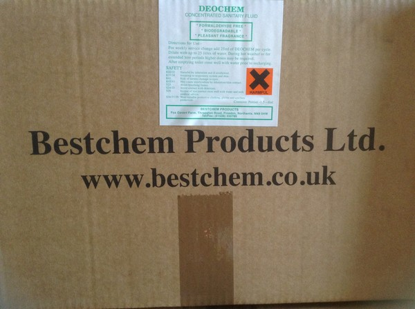 Boxed Bestchem Concentrated Sanitary Fluid
