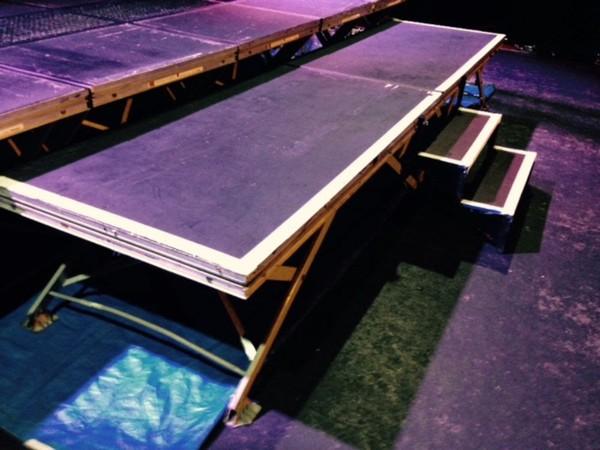 CPS Scissor stage blocks 2m x 1m