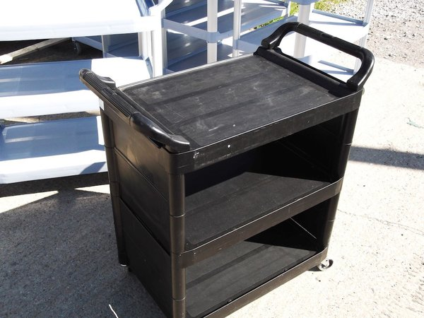 3 Tier Rubbermaid  Trolley  (2993)