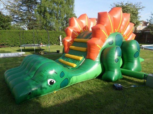 12ft x 25ft Dino Bouncy Slide