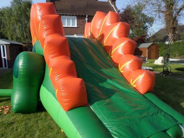 12ft x 25ft Dino Inflatable Slide