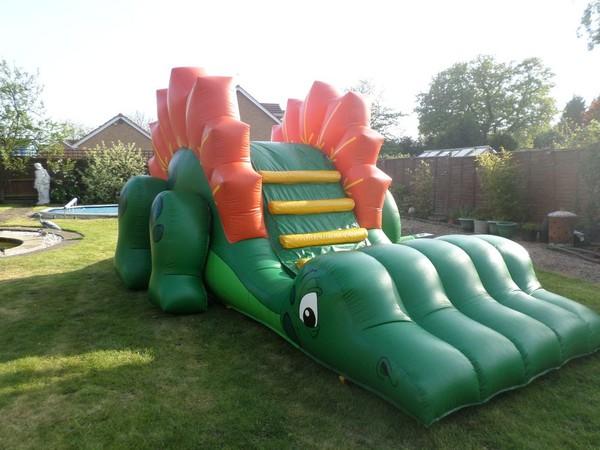 12ft x 25ft Dino Slide