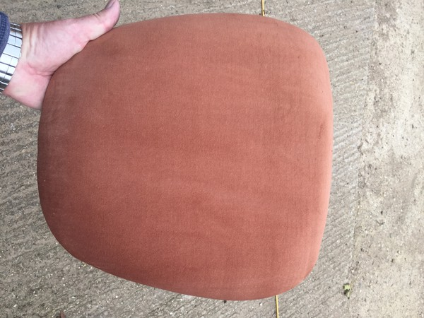 fawn velour seat pads