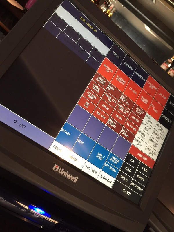 Uniwell EPOS Touchscreen Till Systems