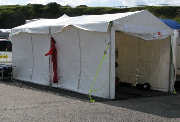 6Mx3M Race Awning for sale