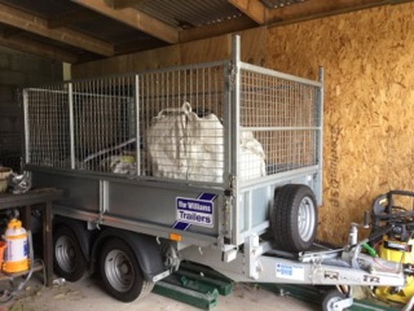 Ifor Williams GD 85 twin axle trailer