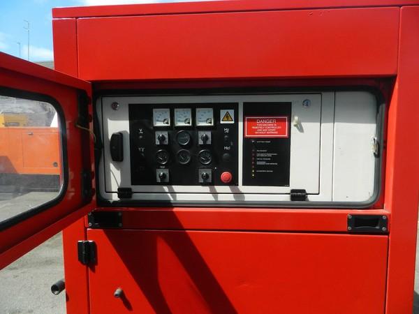 Used 2008 250kva Perkins Diesel Generator