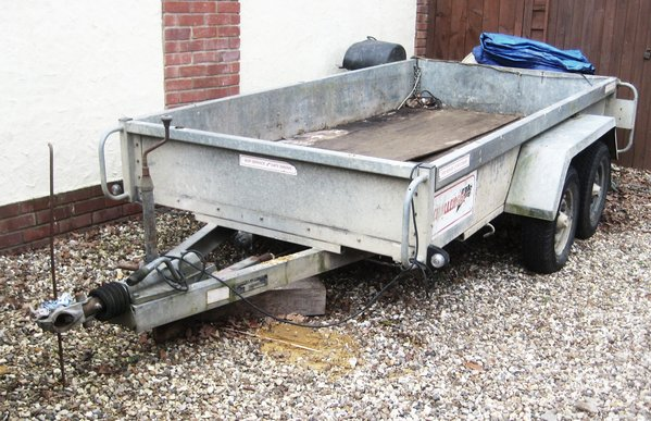 "Indespension "" Challenger"" Trailer 10' x 4' Bed"