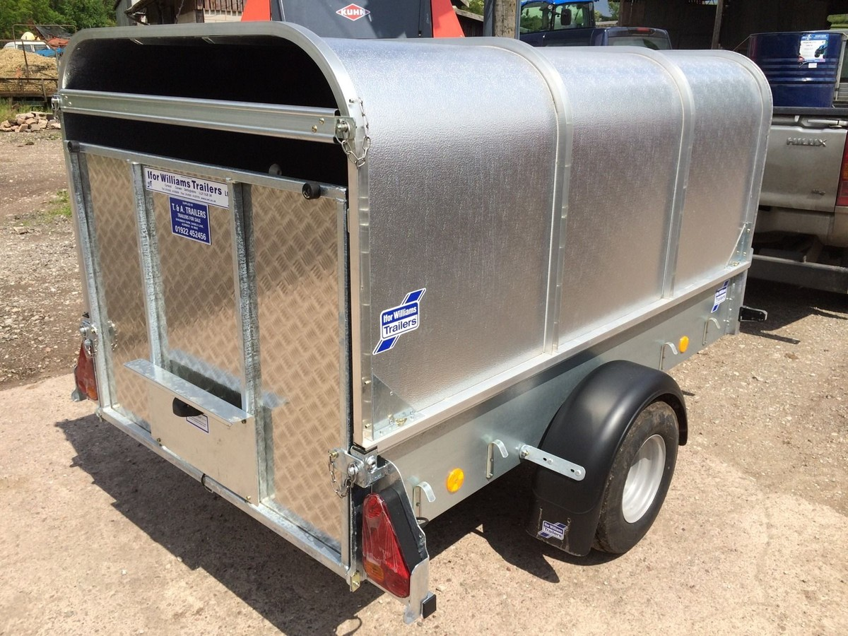 Secondhand Trailers Livestock Ifor Williams P7e 7ft
