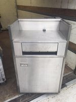 Stainless Steel Tray Clearing Station with Bin