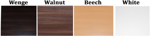 table top colour choices