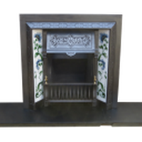 Victorian Repro Cast Iron Fireplace