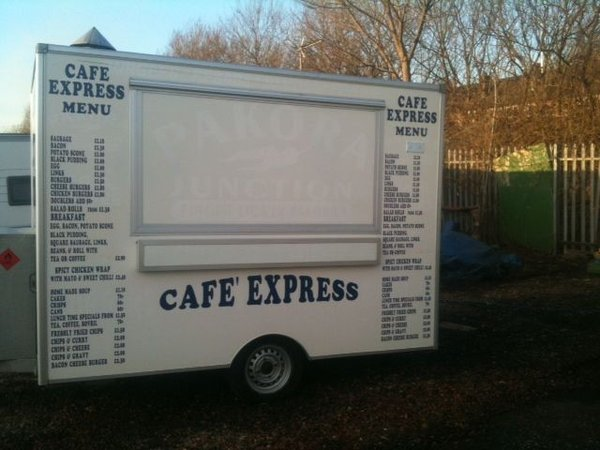 12 ft catering trailer for sale