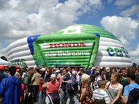 25m Inflatable marquee for sale
