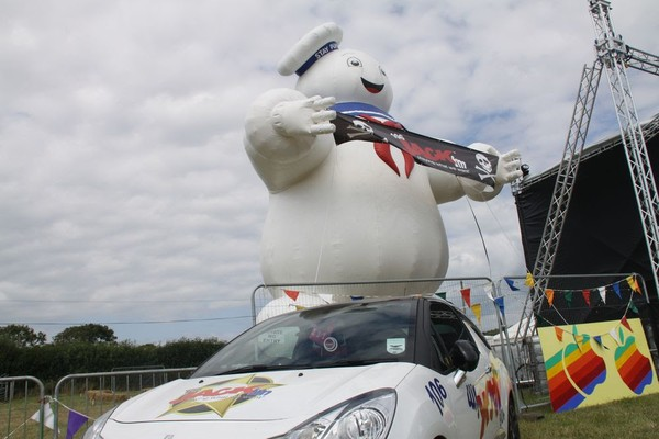 35ft Inflatable Stay Puft Marshmallow Man