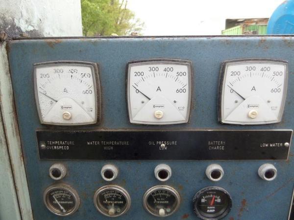 Buy Used 6 cylinder turbo dorman 295 kva generator