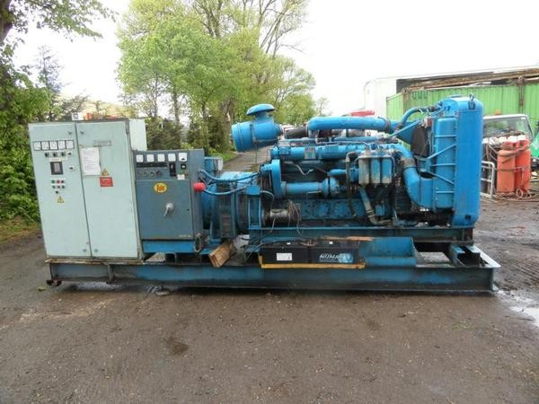 Selling 6 cylinder turbo dorman 295 kva generator
