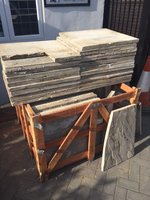 Used Concrete Paving Slabs