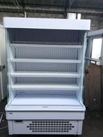 Tiered Display Fridge