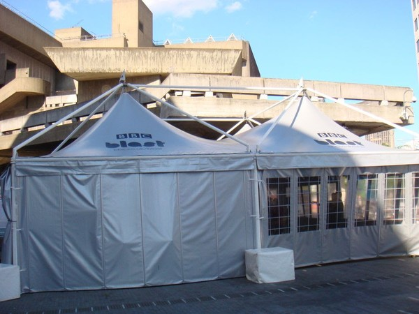 Used 10m x 10m Marquee