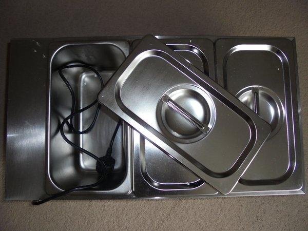 Ace Wet well Bain Marie with Glass Guard