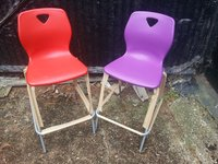23x Polypropylene High Stools