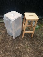 Solid Beech high stools