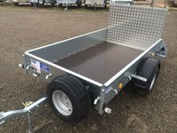 Ifor Williams P7E - 7ft Single Axle Trailer With Rear Ramp