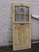 1930 Edwardian Original Exterior Door