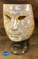 Gold Mosaic Face Chair