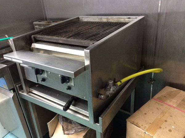 Gas Char grill for sale