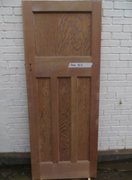 1930's Original Reclaimed Stripped Pine Interior Door