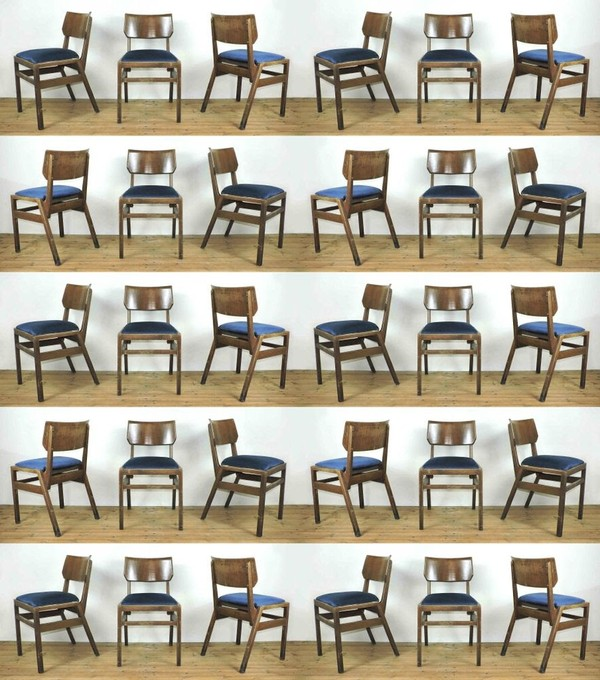 Vintage Stacking Ben Chairs